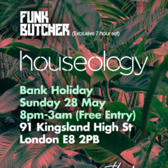Houseology returns to The Alibi in May 2017